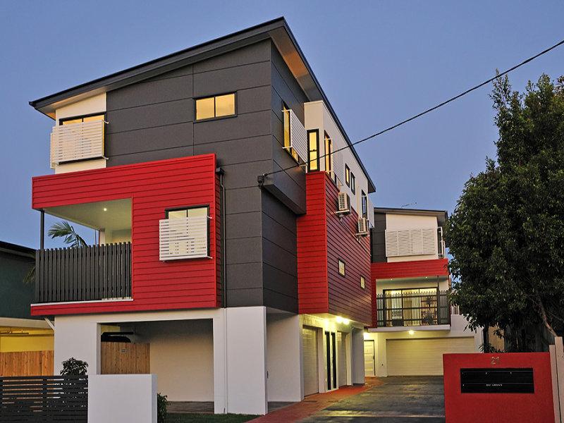 Brisbane 3 storey townhouses mrd studio building designers for Housedesigner com
