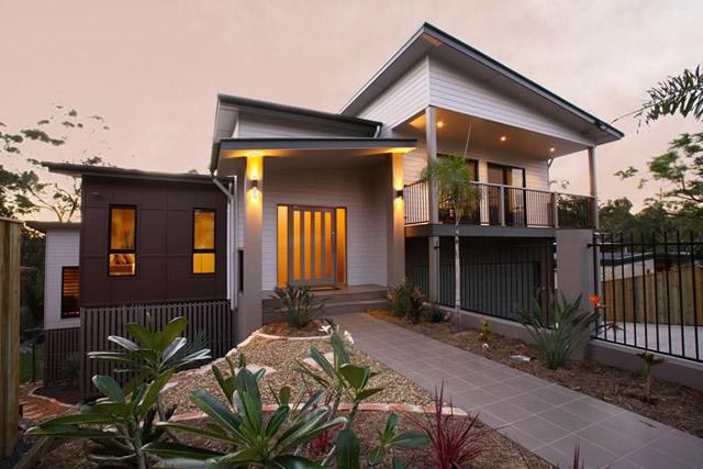 Split Level Home Split Level Design Sloping Block Difficult Site